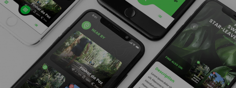 Mobile Application of Green Gardens Azores Project